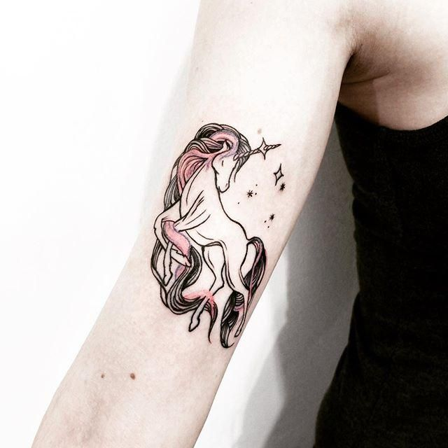 70 Tatuagens De Unicornio As Fotos Mais Lindas Body Art