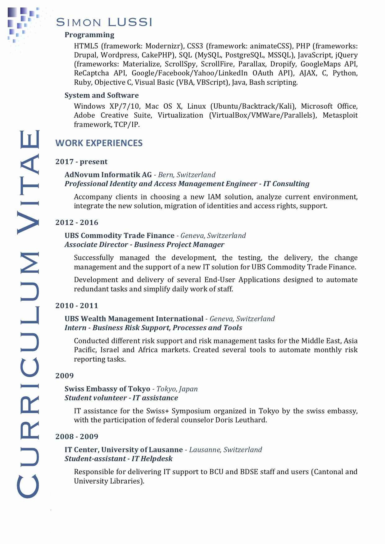 80 Beautiful Photos Of Hr Resume Examples 2016