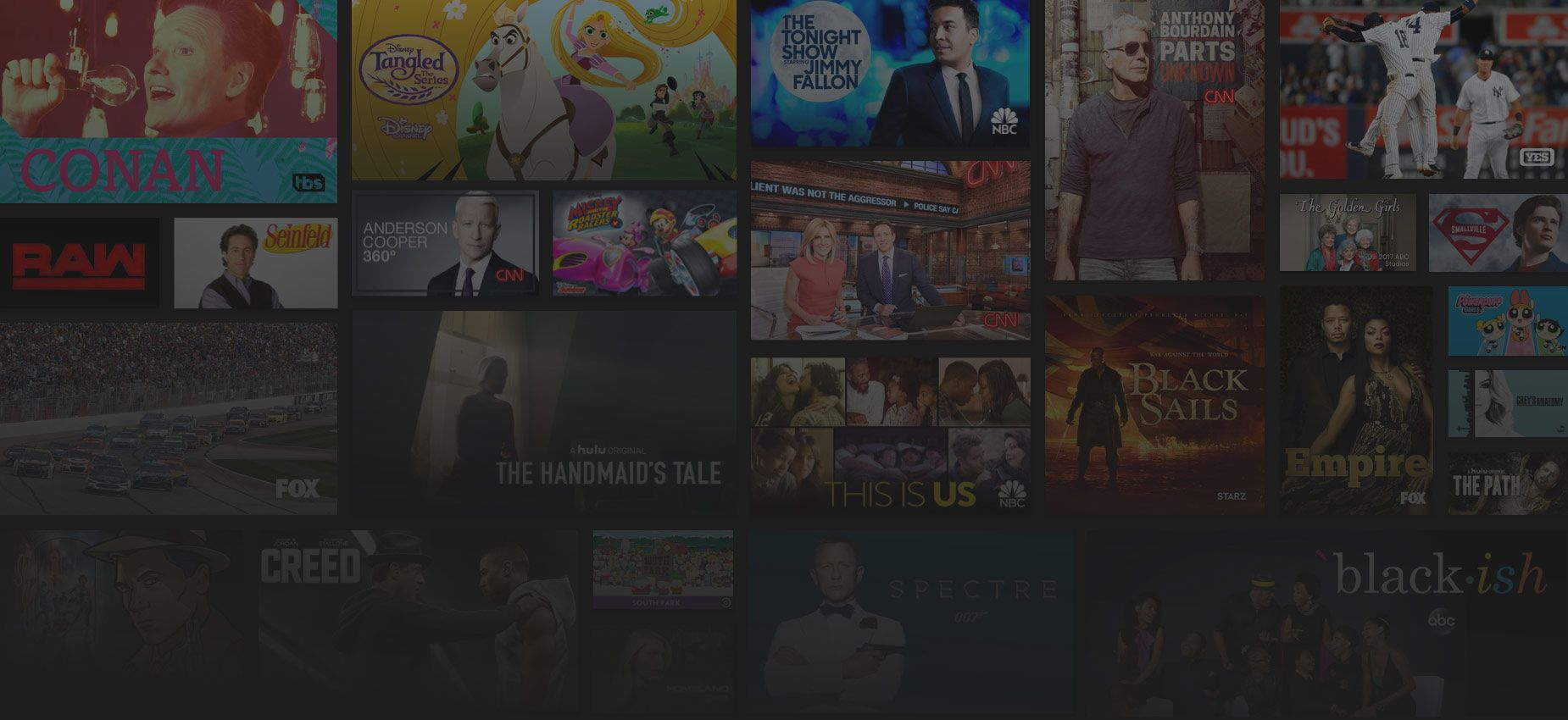 HULU Stream Live TV shows, news and sports online. With