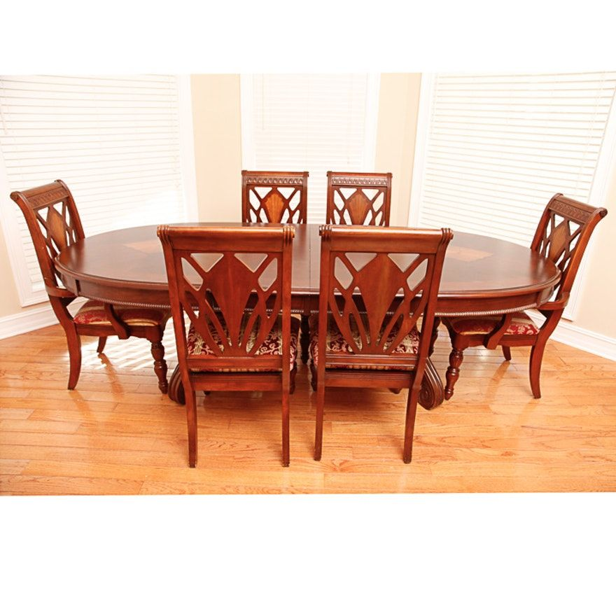 45++ Antique cherry dining table and chairs Top