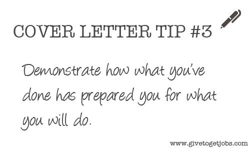 Cover Letter Tip #3   careersuaedu Cover Letter Tips