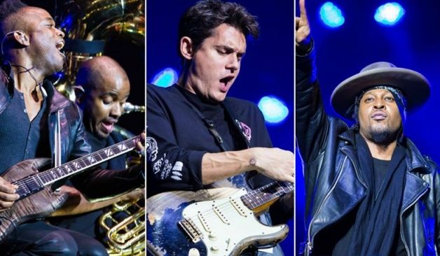 The Roots, D\'Angelo y John Mayer tocaron \