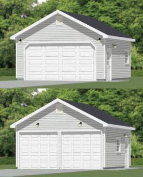 20x20 2 Car Garage 20x20g4 400 Sq Ft Excellent Floor