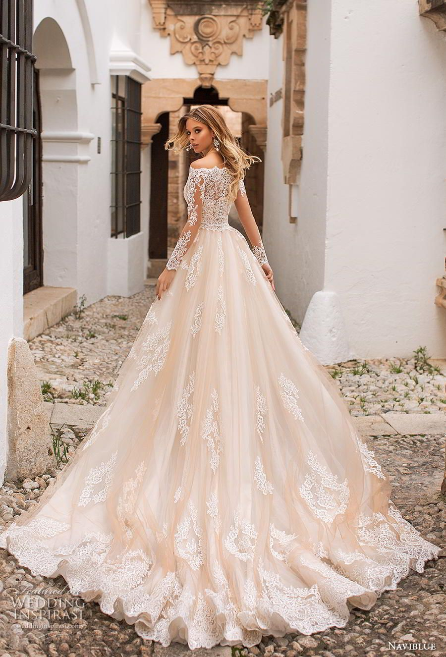 Naviblue 2019 Wedding Dresses Dolly Bridal Collection Wedding Inspirasi Lace Mermaid Wedding Dress Pregnant Wedding Dress A Line Wedding Dress [ jpg ]