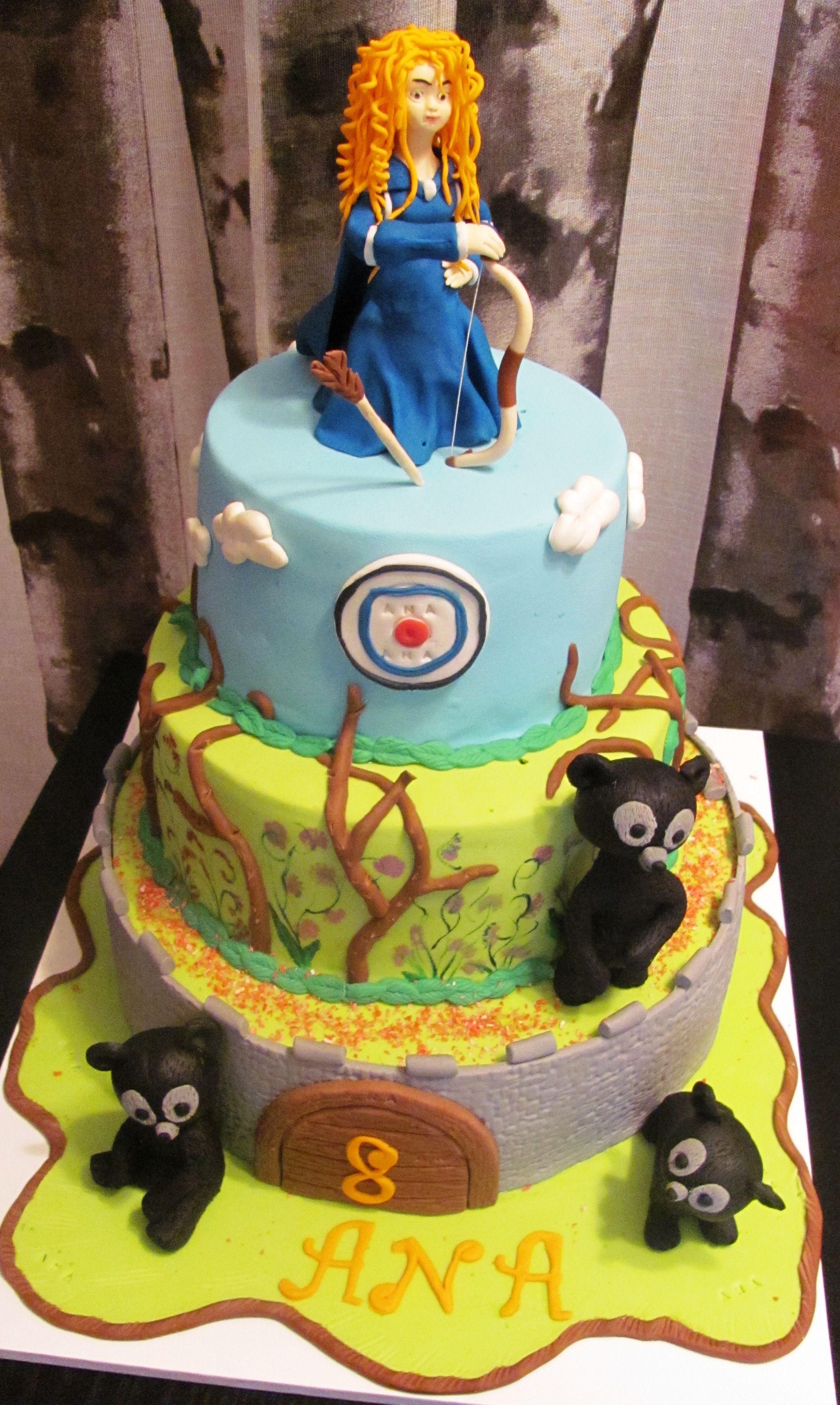 Brave ana cake hahahahaha disney cakes cake