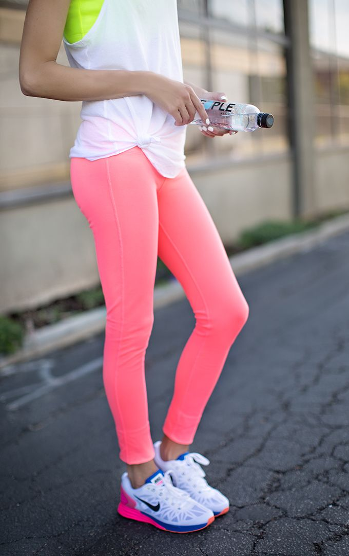 4c2c0ec99bb8 Trendy Fitness Outfits   4 Colorful Workout Looks. You ve Fallen Off The  Wagon  Here s How To Get Back On Track