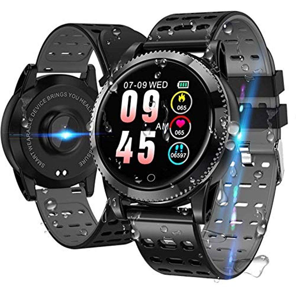 Smartwatch Fitness Armbanduhr Ip68 Wasserdicht Smart Watch Fitness Uhr Mit Pulsmesser Blutdruck Schlafmonitor Aktivit Fitness Armbanduhr Smartwatch Fitness Uhr