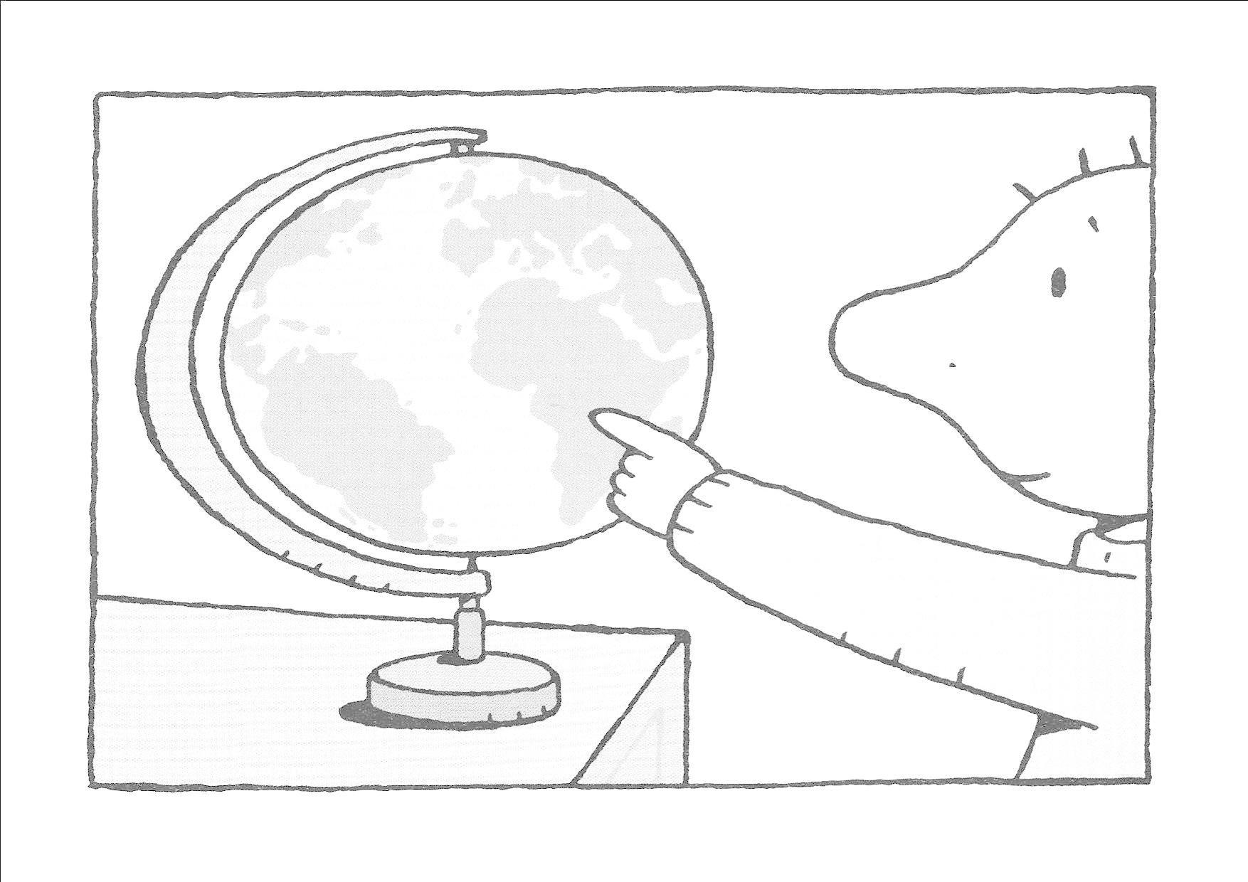 Jules Kleurplaat De Wereld Thema Wereld De Wereld