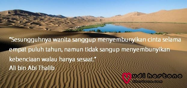Kata Bijak Ali Bin Abi Thalib Tentang Wanita