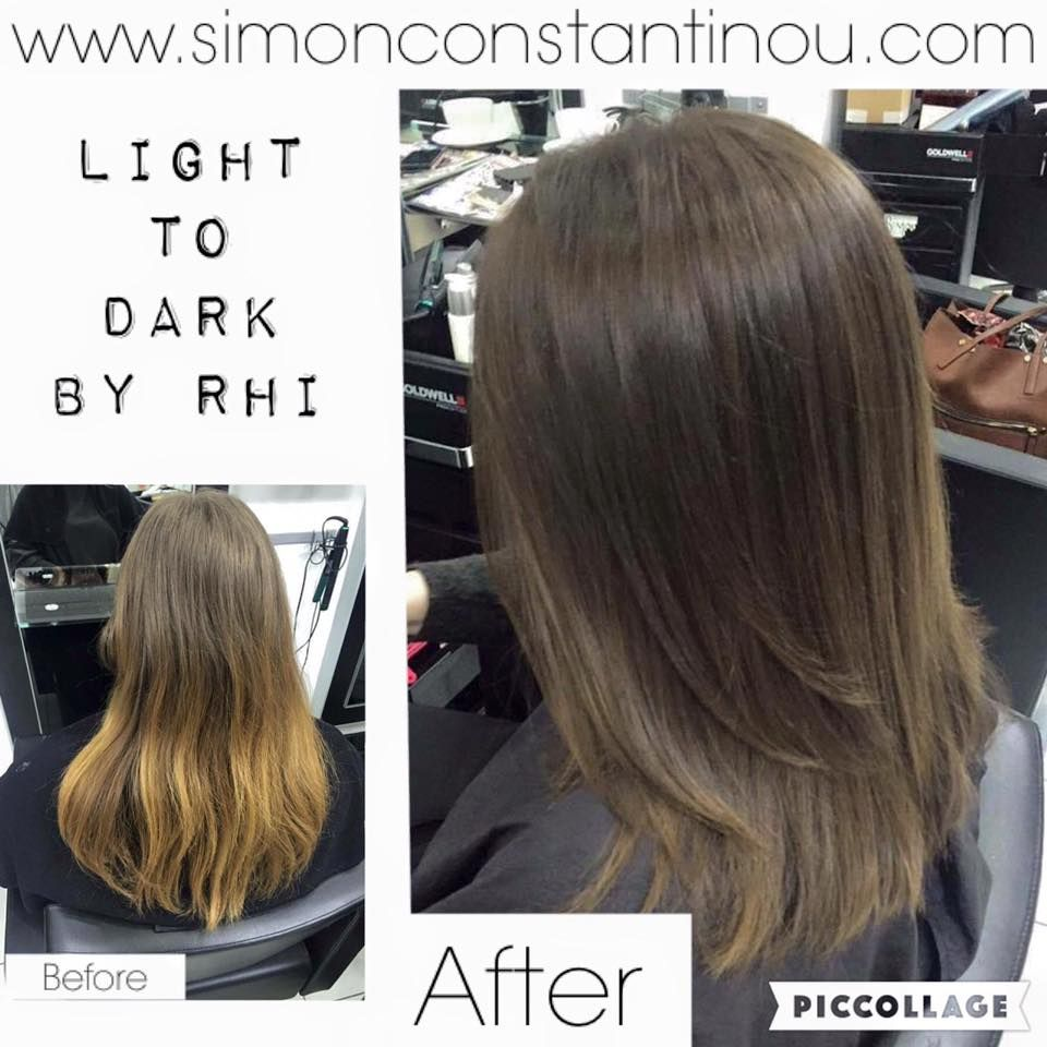 Another fab colour transformation from light to dark by rhi call