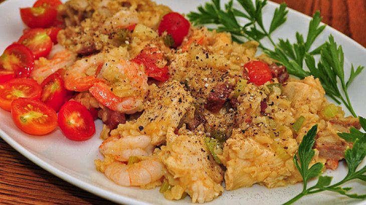 Chicken shrimp and andouille jambalaya recipes and restaurants recipe chicken shrimp and andouille jambalaya forumfinder Gallery
