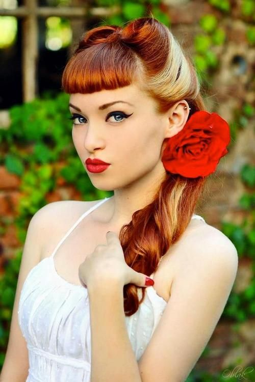 Superb 1000 Images About Vintage Hairstyles On Pinterest Pin Up Short Hairstyles For Black Women Fulllsitofus