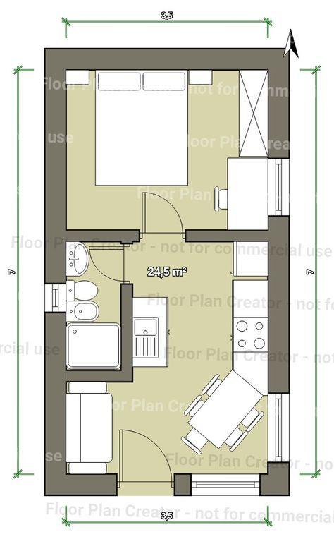 plan appartement simple