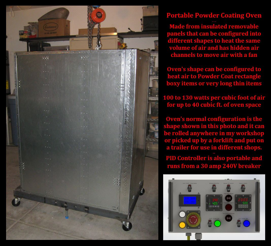 Powder Coating Oven 3dp Parts With Images Powder Coating Oven
