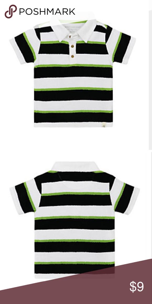 8458cd8f4e9b Burt s Bees Baby Striped Terry Tee 100% Organic cotton kids knit ...
