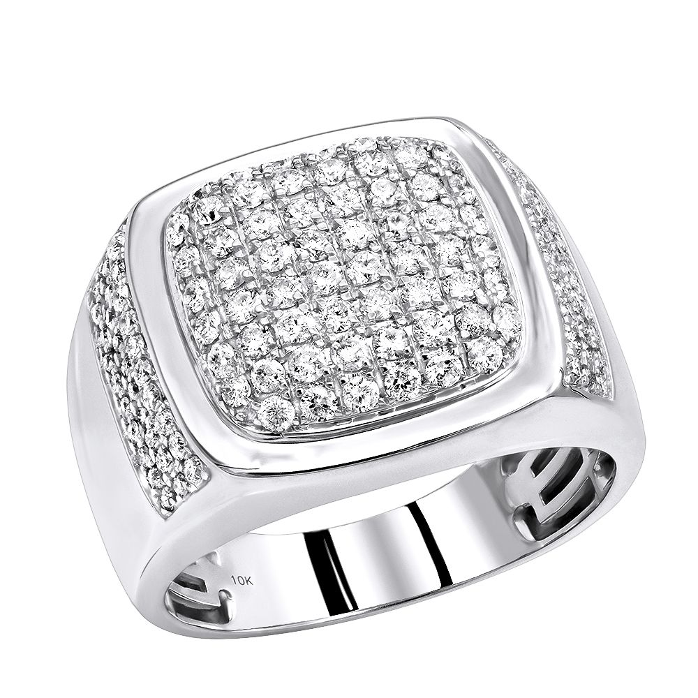 Check This Out Unique Diamond Wedding Bands Mens Diamond Pinky Rings Men Diamond Ring