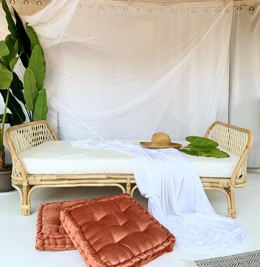 Last One! Sunset Rattan Daybed Sofa Rattan daybed