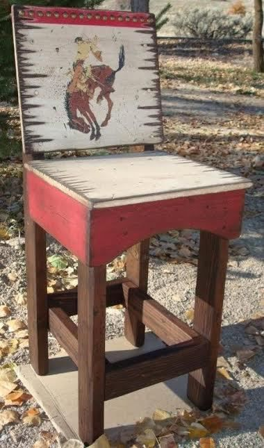 Magnificent Private Pendleton Round Up Western Bar Stool Pendleton Onthecornerstone Fun Painted Chair Ideas Images Onthecornerstoneorg