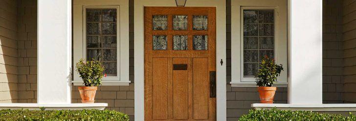 The best wooden front door