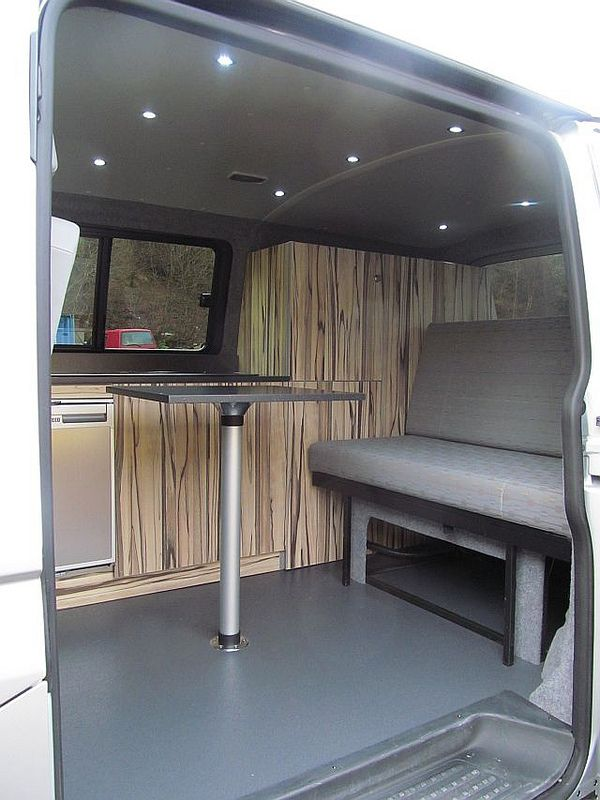 Vw t5 camper conversion t4 pinterest t5 camper for Vw t4 interior designs