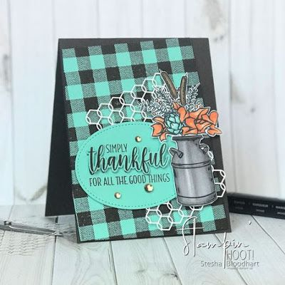 Pinterest Highlights Featuring The Buffalo Check Stamp Set Hand Stamped Cards Stampin Up