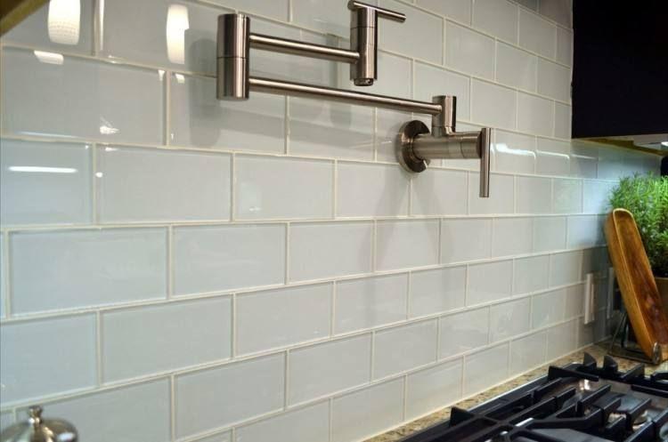 Glass Subway Tile Backsplash Designs Glass Subway Tile