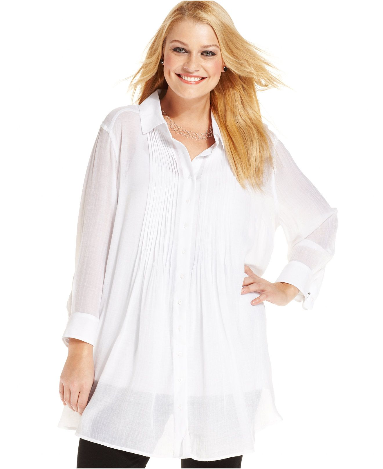 Dressy White Blouses At Macys Rockwall Auction