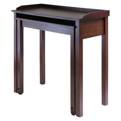 Kendall Computer Desk - Antique Walnut.Opens in a new window