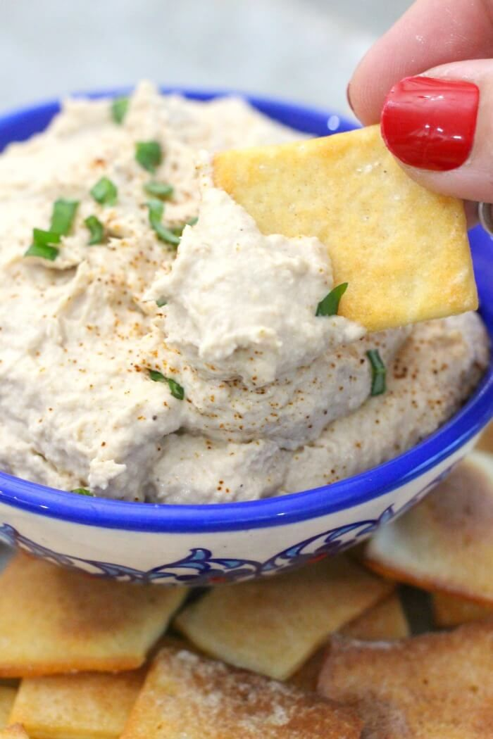 smoked salmon dip is an easy recipe to make and works