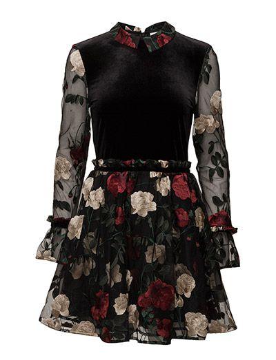 d6905327b21f Køb Ganni Simmons Mini Dress (Black) hos Boozt.com. Vi har et stort  sortiment fra alle de førende mærker og leverer til dig indenfor 1-2 dage.