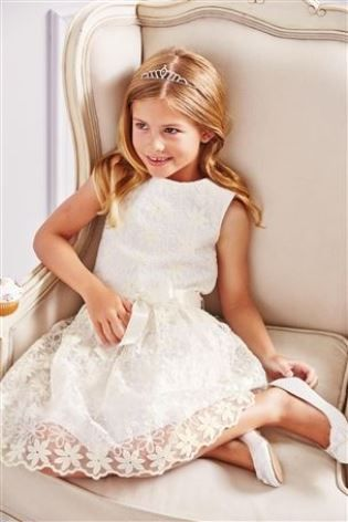 Buy White Flower Dress (3-16yrs) from the Next UK online shop