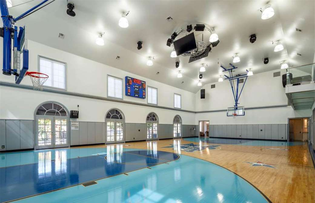 What Secrets Are These Homes Hiding Mansions Texas Mansions Indoor Basketball Court