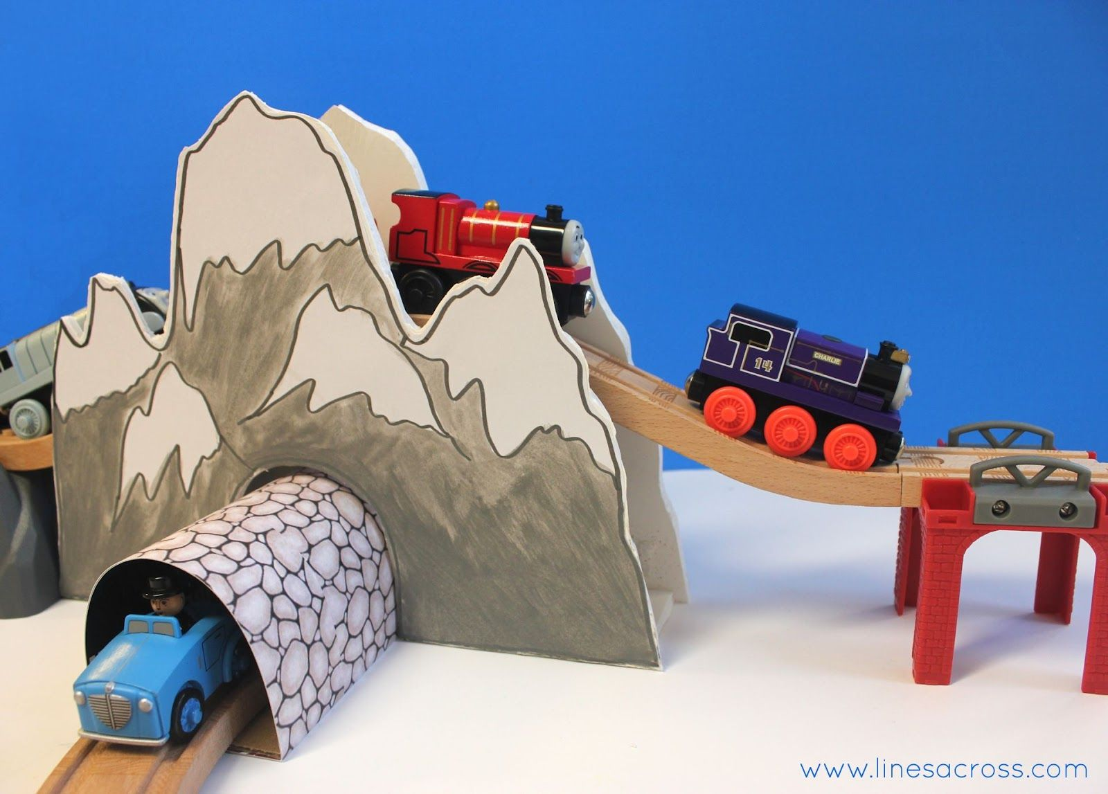 Toy Train Tunnel