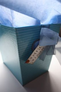 pantonejane.blogspot.com Scrapping. Cinema box with candy and movie tickets. Birthday gift