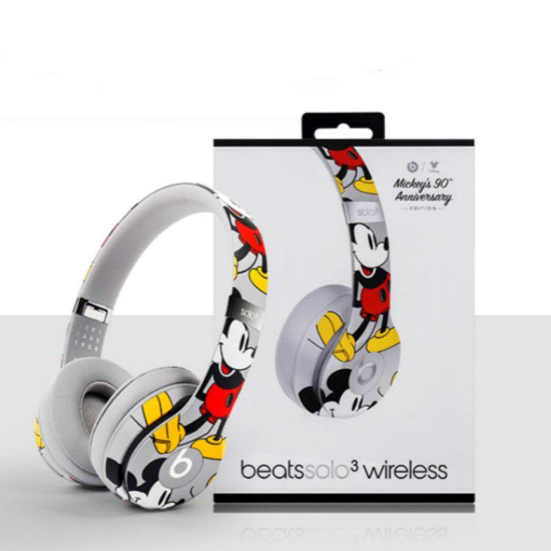 Mickey beats solo3 wireless | Headphone, Bluetooth headphones wireless,  Wireless bluetooth