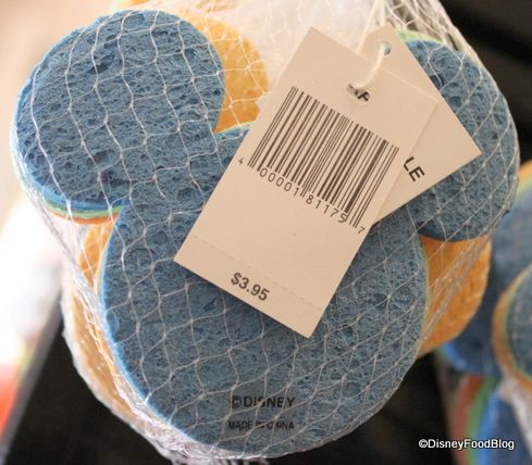 Disney Kitchen Accessories, Mickey Mouse sponges for the home