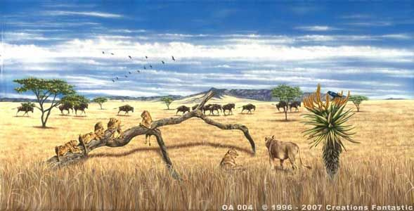 Backdrop OA 004 African Savannah 4 | Out of Africa | Pinterest ...