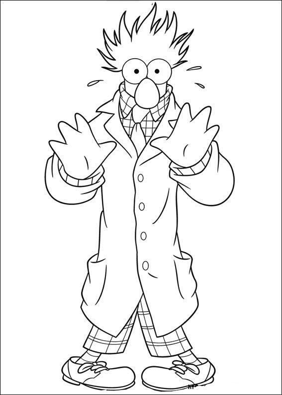 Muppet Show Fear Coloring Pages For Kids Gxo Printable Muppet Show Coloring Pages For Kids Baby Coloring Pages Halloween Coloring Pages Super Coloring Pages