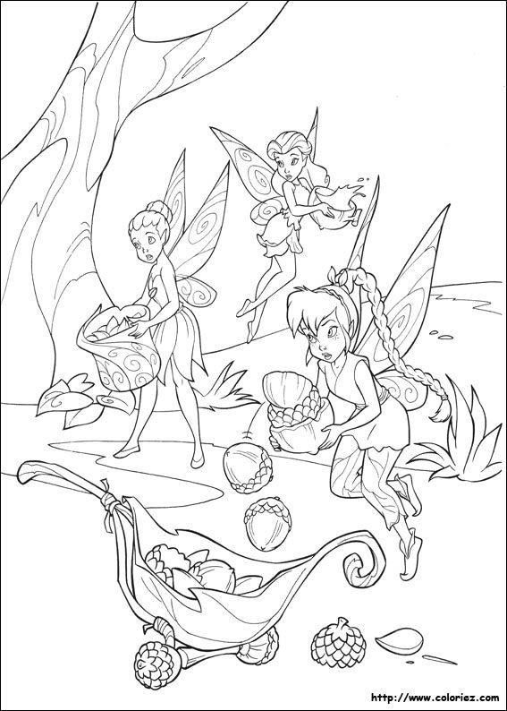 Pin by KS on Coloring-Disney | Tinkerbell coloring pages ...