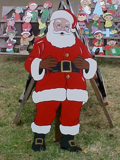 Welcome To My Homepage (With images)   Christmas yard art ...