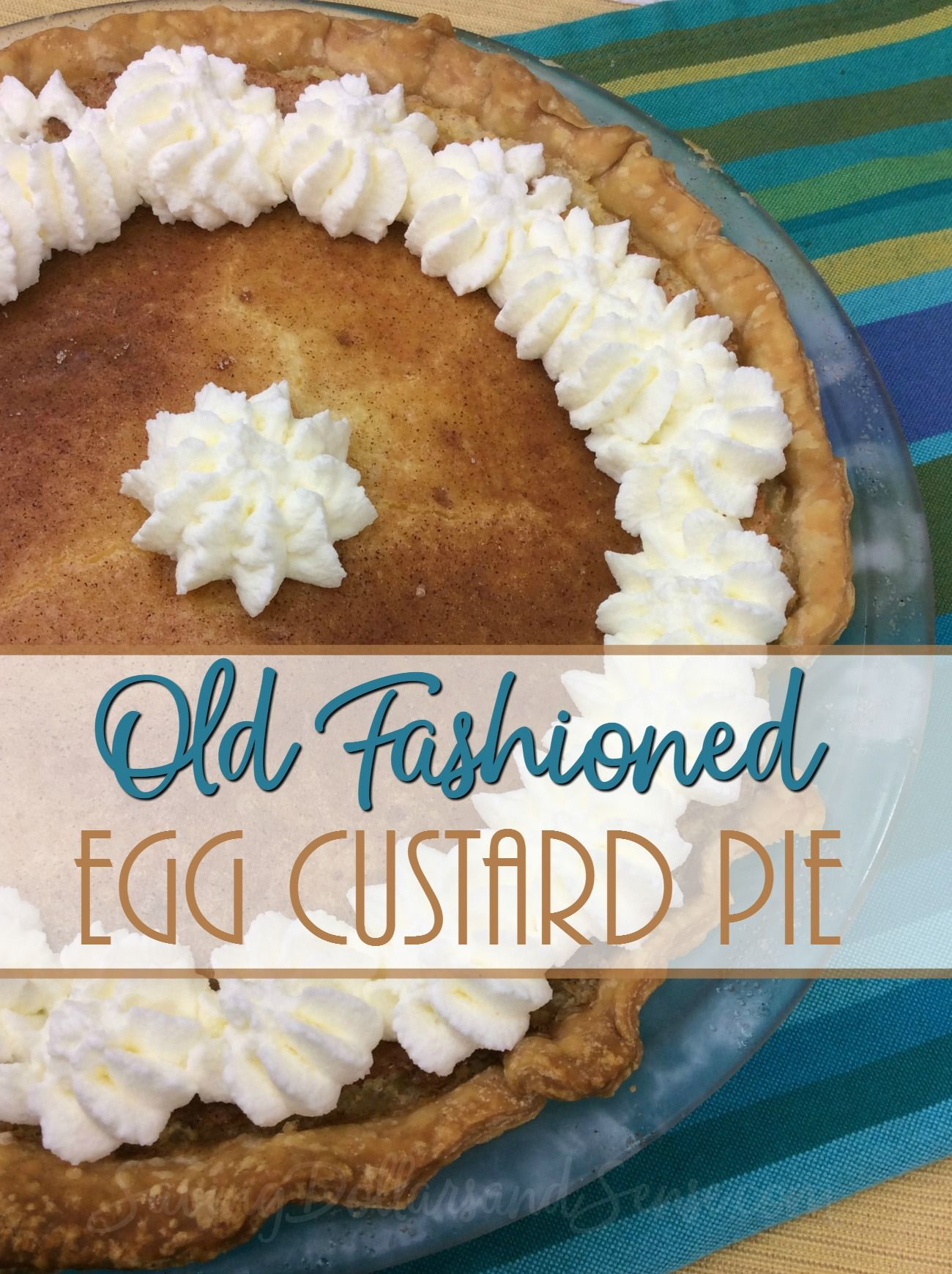 old fashioned custard
