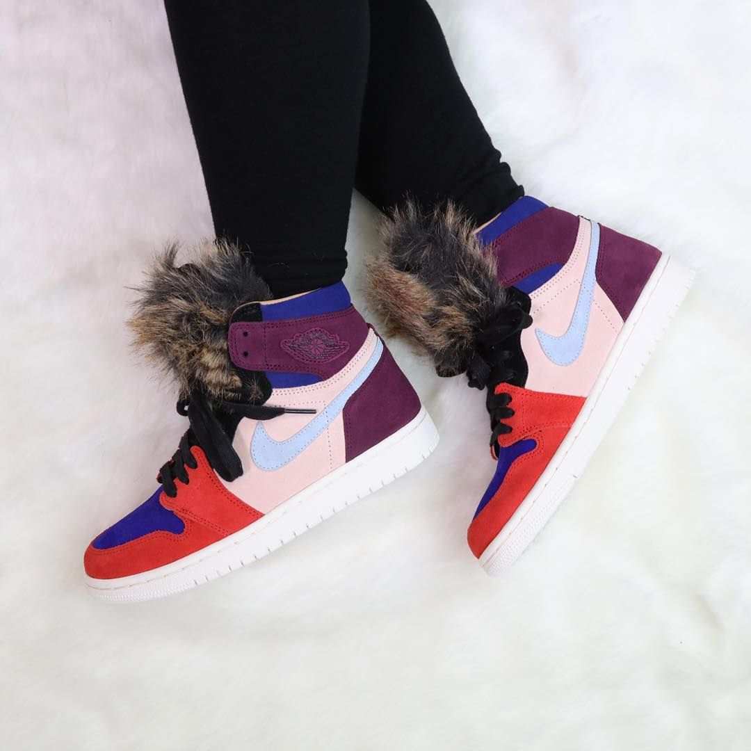 """online retailer ac82f 7d2dc Sneaker News on Instagram  """"The Air Jordan 1 Retro High by Aleali May  releases this Saturday 12 15 in women s sizes (up to 12W   10.5M)."""