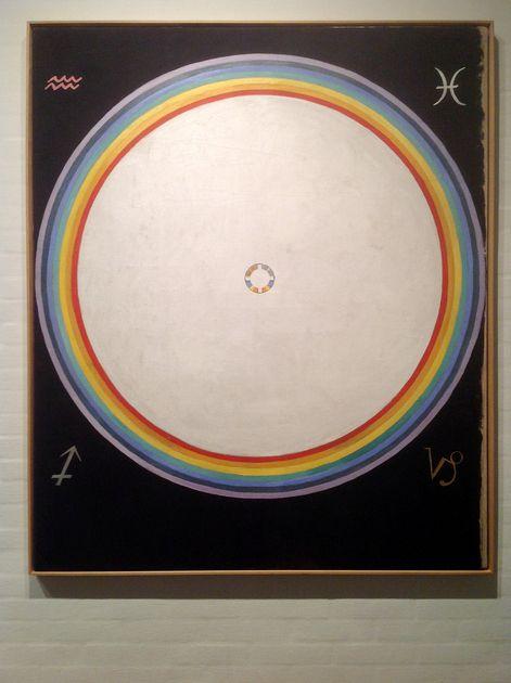 Group IX/UW, No. 38, The Dove, No. 14 - Hilma af Klint