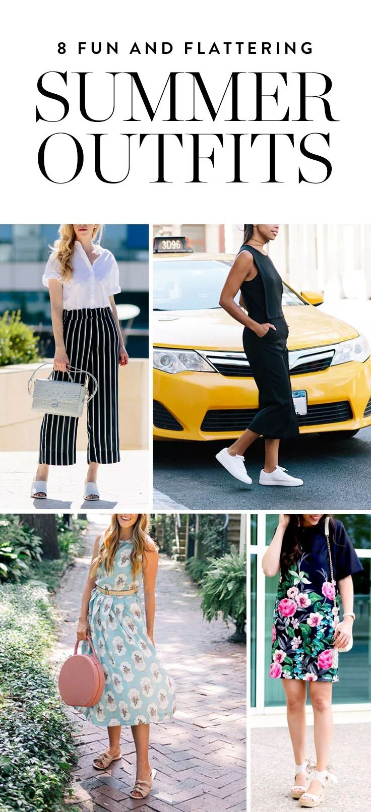 46d46cbba8 Check out these 8 slimming summer outfits to try out this season. Bonus:  they're ridiculously easy to recreate.