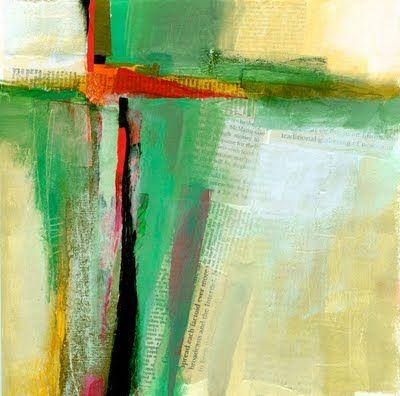 collage journeys: Compositional Studies - Cruciform Series
