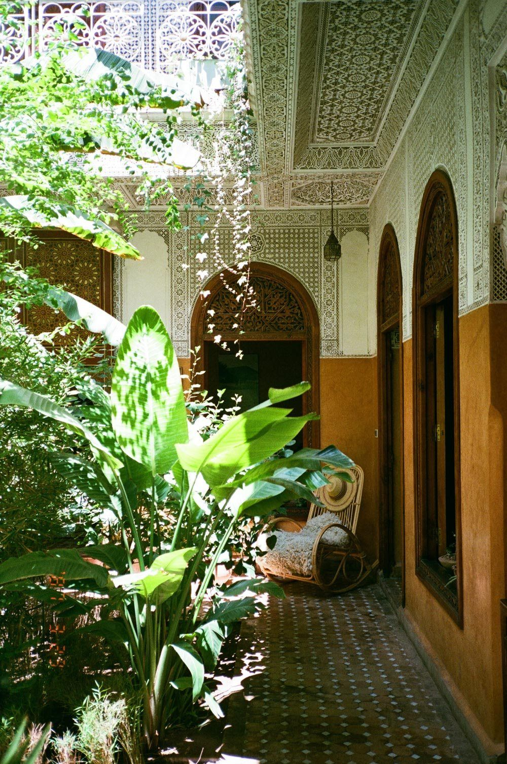 A Little Piece Of Paradise In Riad Jardin Secret Marrakech With