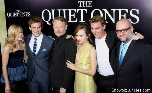 The Quiet Ones Premiere Photos Sam Claflin And More The Quiet