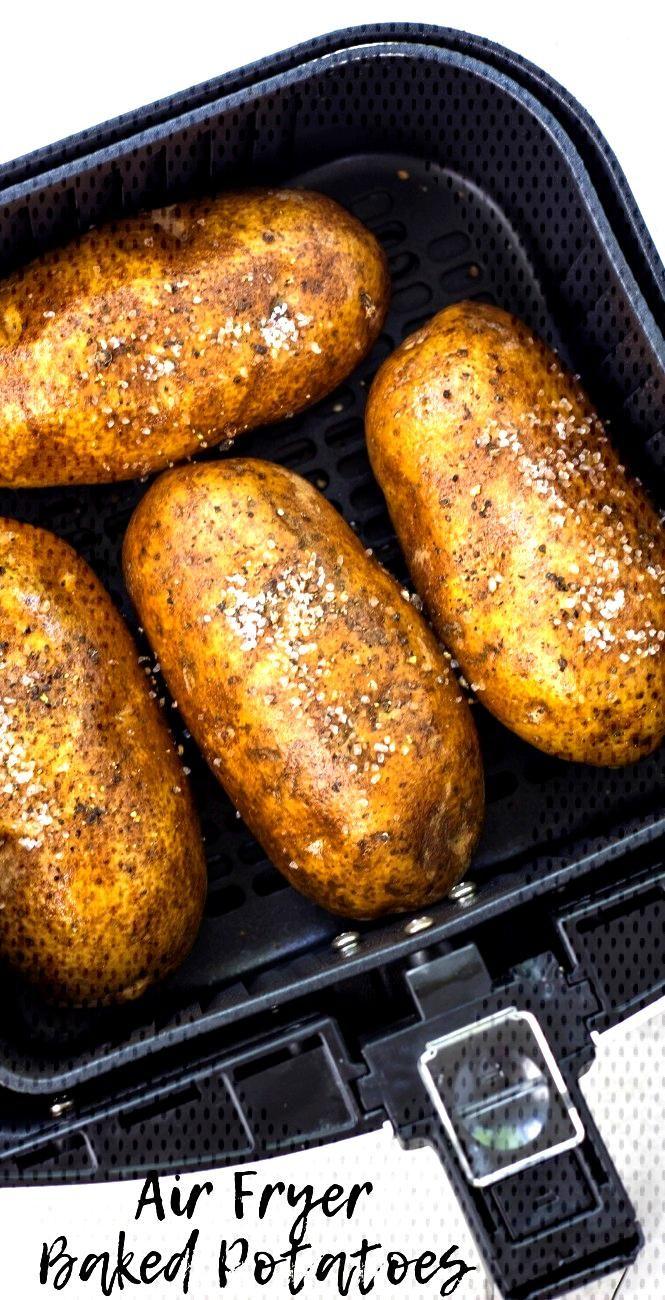 Air Fryer Baked Potatoes Air Fryer Baked Potatoes, how to cook potatoes in air fryer, air fryer rec