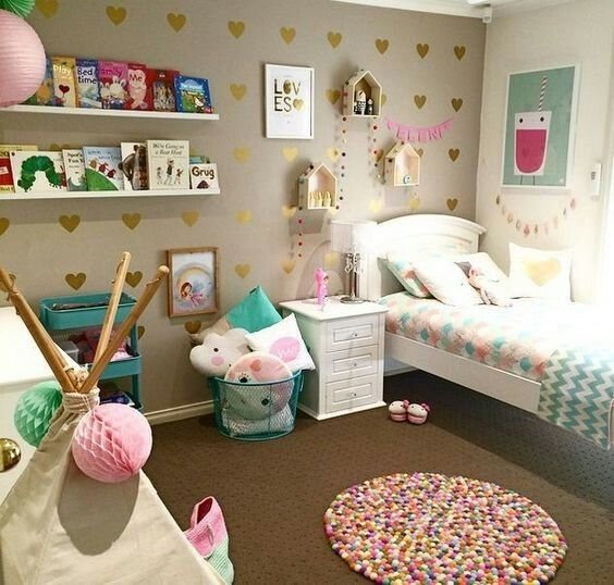 Little Girl S Bedroom Decorating Ideas And Adorable Girly: Pin By Tiphanie Ros On Tiny