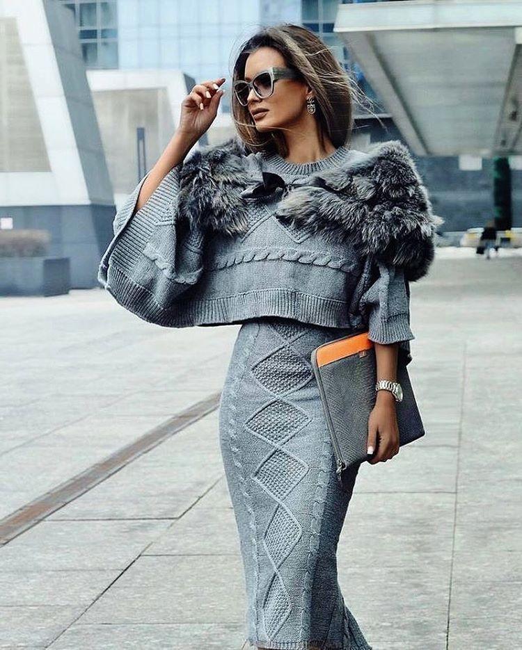 "Polubienia: 487, komentarze: 4 – ✨Knitted Dreams✨ (@knitted_dreams__) na Instagramie: ""@fashiondesfemmes #knit #knitting #knitted #knitwear #knitstyle #knitstagram #knittinglife…"""